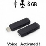 USB-Stick-Spionagerecorder, 8GB, Voice-Activated, aus dem Abhoergerate-Shop von www.McSpy.biz