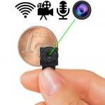 MICRO Funk-Kamera CT-300 Color. Die weltweit kleinste Funk-WiFi Color-Kamera mit Ton.